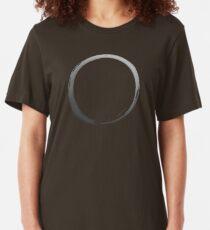 Grey logo Slim Fit T-Shirt