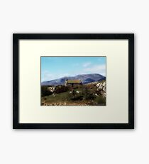 Connemara Cottage Framed Print