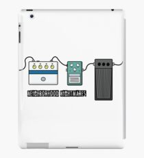 Neighborhood Nightmare - Guitar pedals iPad Case/Skin