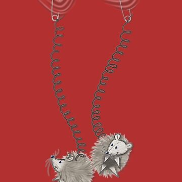 Hedgehogs do a swing by Sunflow