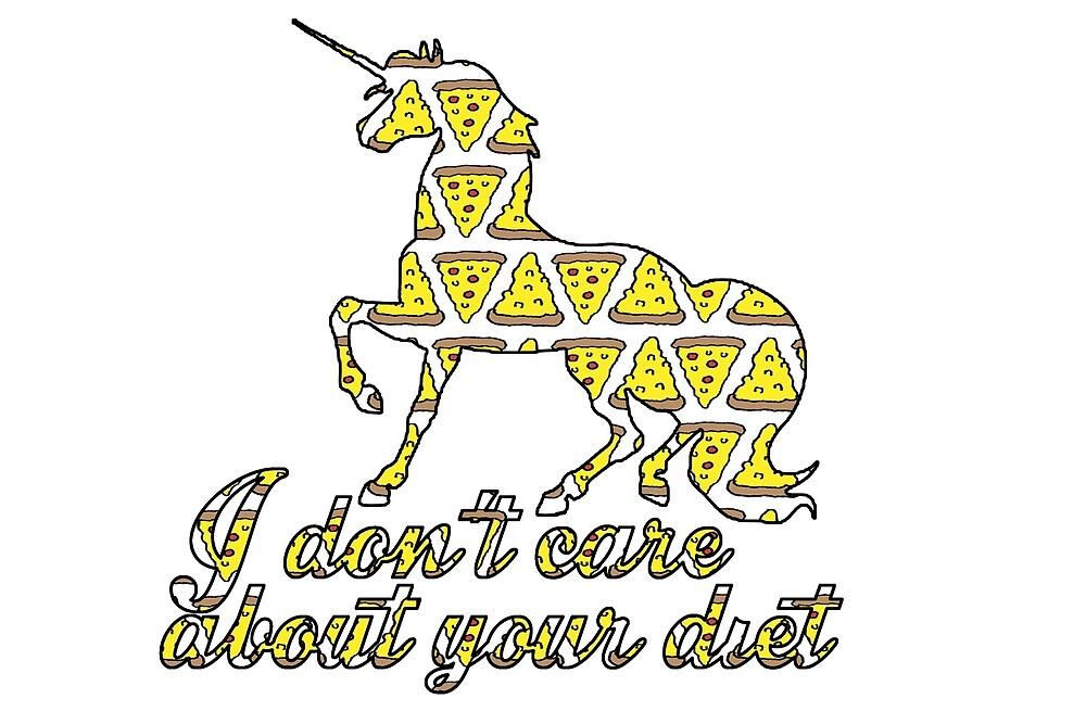 Unicorn - No Diets 2 by paperbouquet