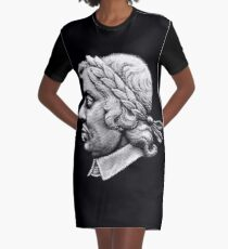 Lord Protector - Oliver Cromwell Graphic T-Shirt Dress