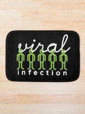 viral infection Bath Mat