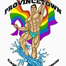 Provincetown Hunk Asian von AbbottDesigns