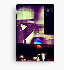 Café. Lomography Canvas Print