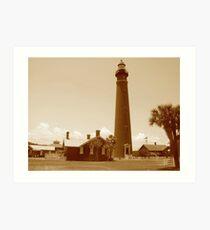 Ponce de Leon Inlet House light Station  Art Print