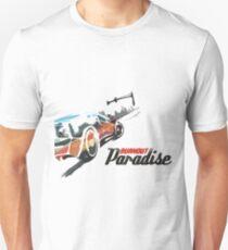 Burnout Paradise Watercolour Unisex T-Shirt