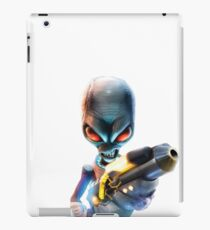 Destroy All Humans: Disintegrator Ray iPad Case/Skin