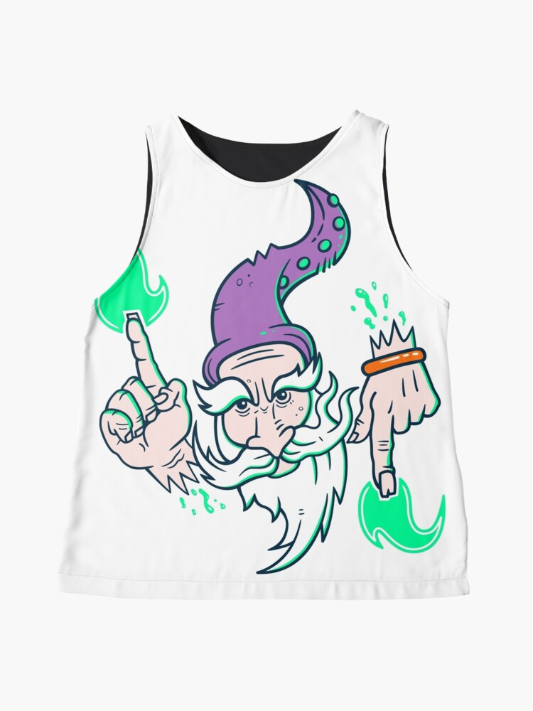 Alternate view of Elemental Wizard Brother Sleeveless Top
