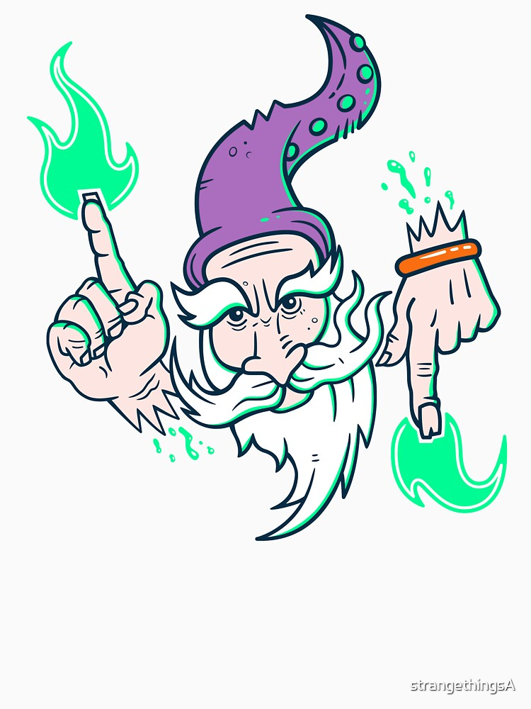 Elemental Wizard Brother by strangethingsA