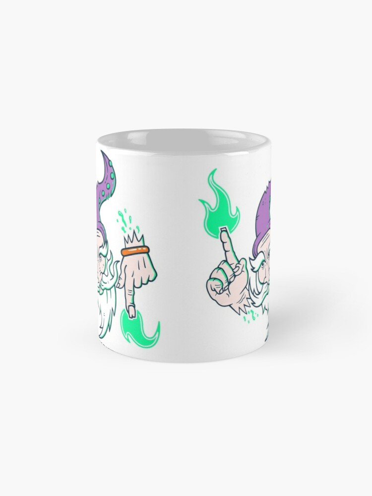 Alternate view of Elemental Wizard Brother Mug