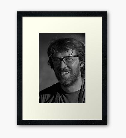 The Blacksmith Genius Framed Print