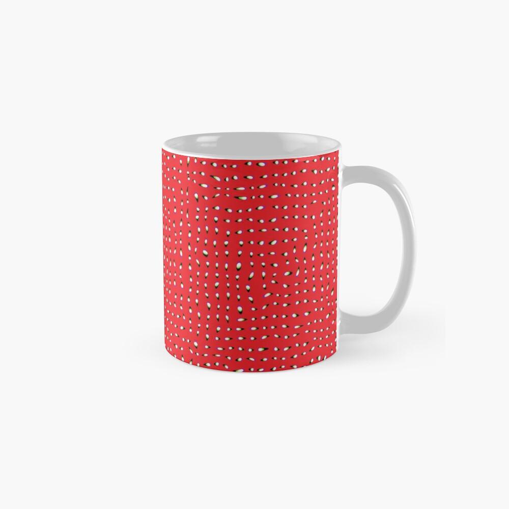 Optical illusion, #pattern, #abstract, #art, #design, shape, spiral, curve, decoration, futuristic, psychedelic Mug