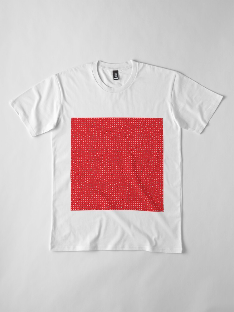 Alternate view of Optical illusion, #pattern, #abstract, #art, #design, shape, spiral, curve, decoration, futuristic, psychedelic Premium T-Shirt