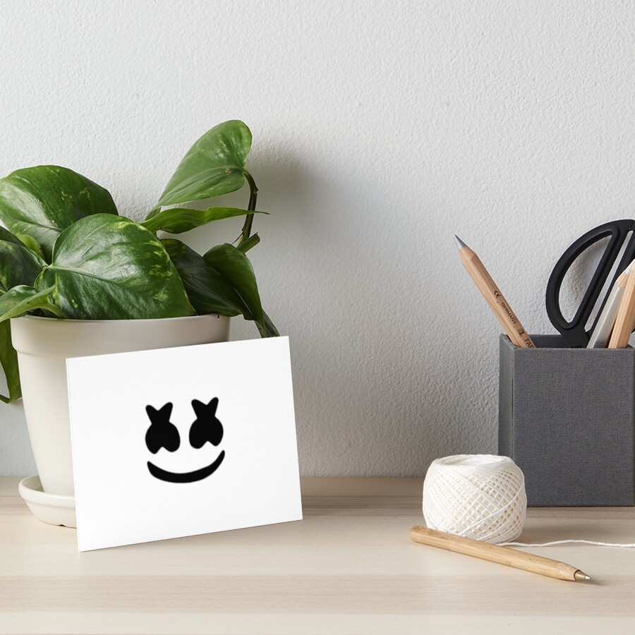 marshmello Art Board Print