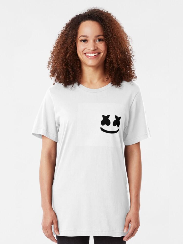 Alternate view of marshmello Slim Fit T-Shirt