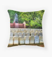 Andersonville National Historic Site Throw Pillow
