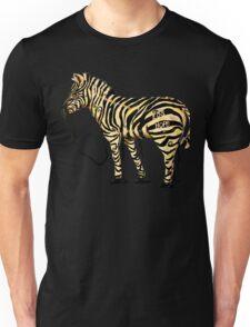 EDS Hope Zebra - Keeping It Together Blank Background Unisex T-Shirt