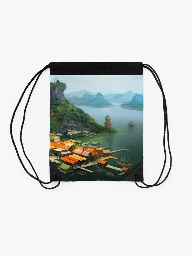 Alternate view of Hometown Drawstring Bag