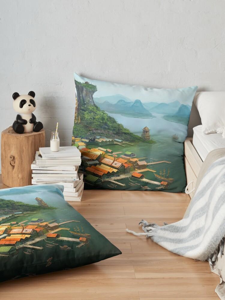 Alternate view of Hometown Floor Pillow