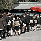 japanese wedding procession by Caprice Sobels