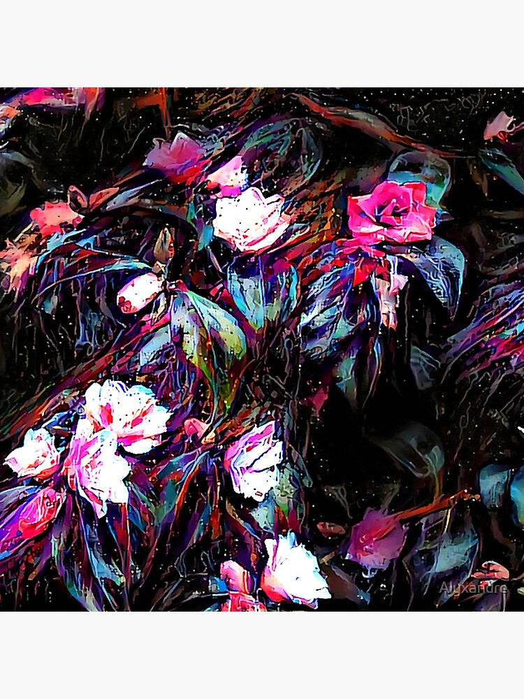 Roses of a Cyberdelic Night by Alyxandre