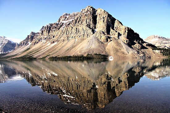 Crowfoot Mountain, Banff National Park by Vickie Emms