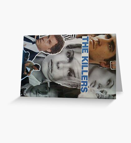 celebrity collage Greeting Card