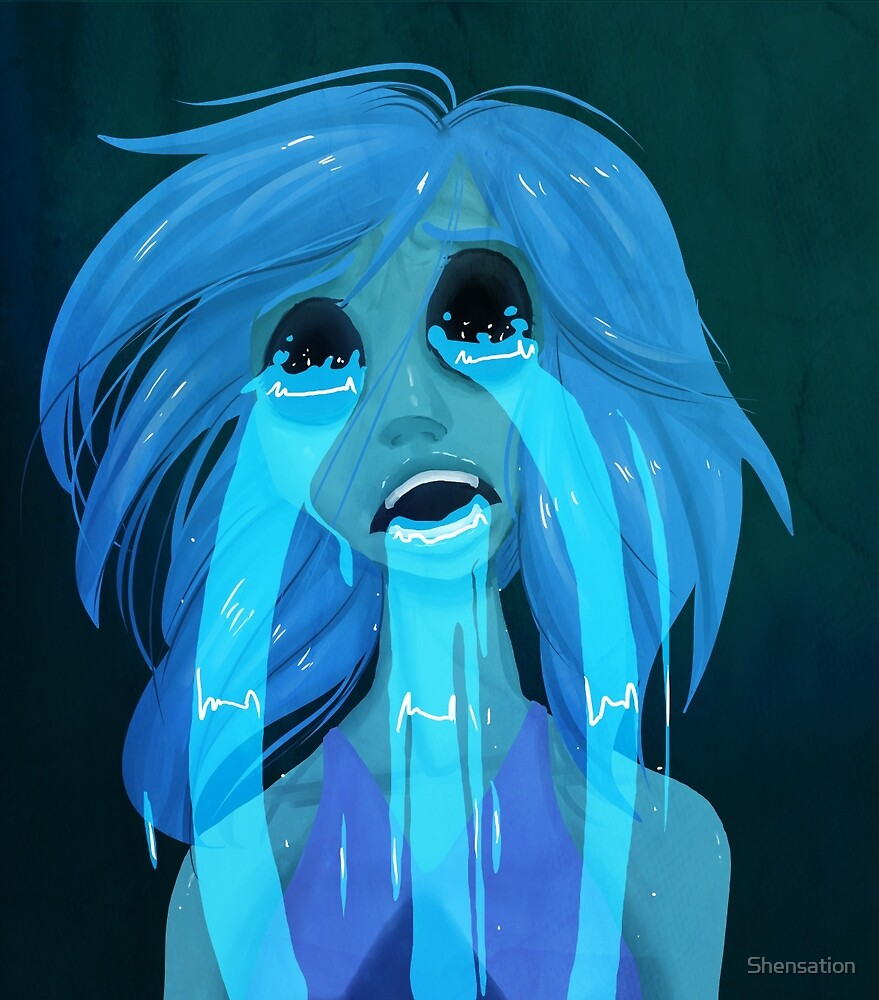 Crying Lapis by Shensation