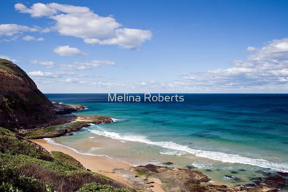 Susan Gilmore Beach, Newcastle NSW, Australia by Melina Roberts