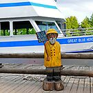 Captain Happy In His Yellow Slicker by jules572