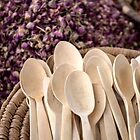 Hand Carved spoons by Marylou Badeaux