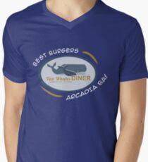 Two Whales Diner Tourist Shirt - Episode 2 Men's V-Neck T-Shirt
