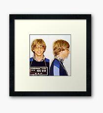 Bill Gates Mugshot Framed Print