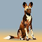 African Wild Dog by Tami Wicinas