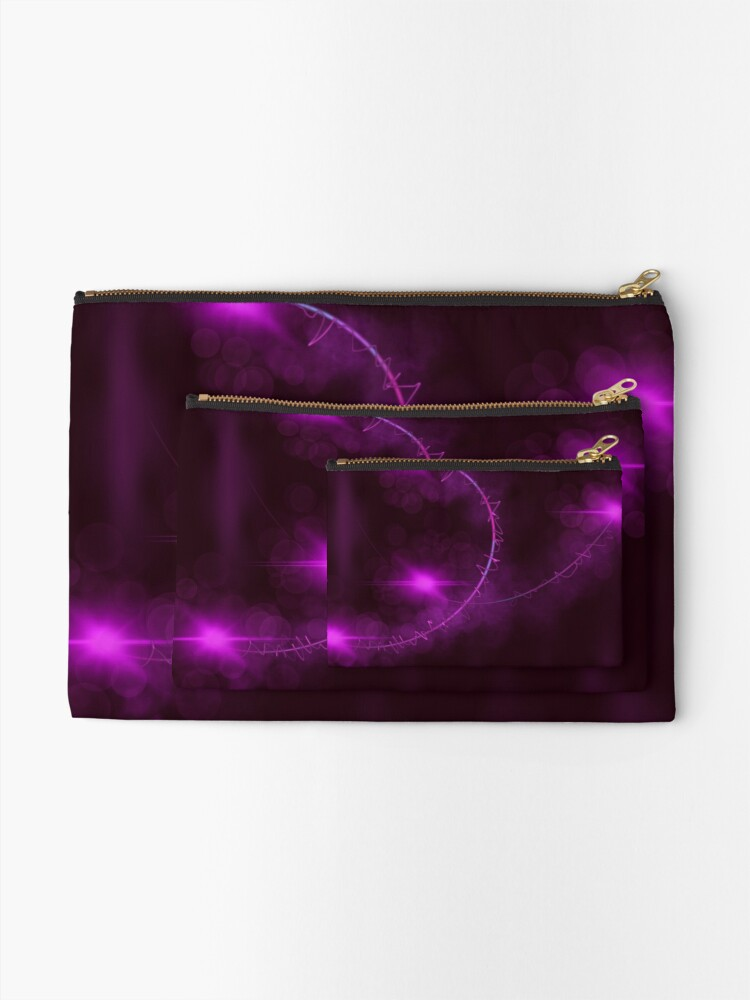Alternate view of Passionate Grasp Zipper Pouch