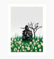 The end of Joy  (MGS3) Art Print