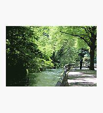 Riverside Walk Photographic Print