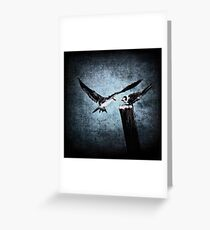 Colder Confrontations Greeting Card