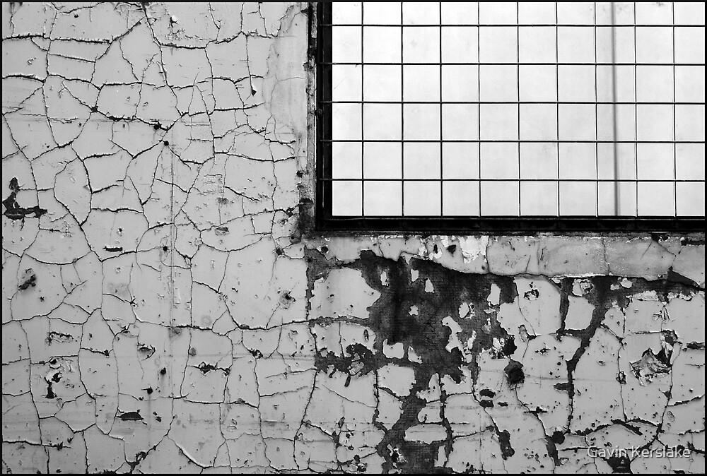 Weathered Wall by Gavin Kerslake