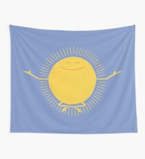 Sun Worshipper Wall Tapestry