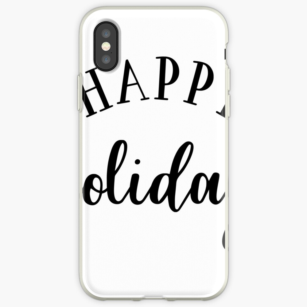 Happy Holidays iPhone-Hülle & Cover