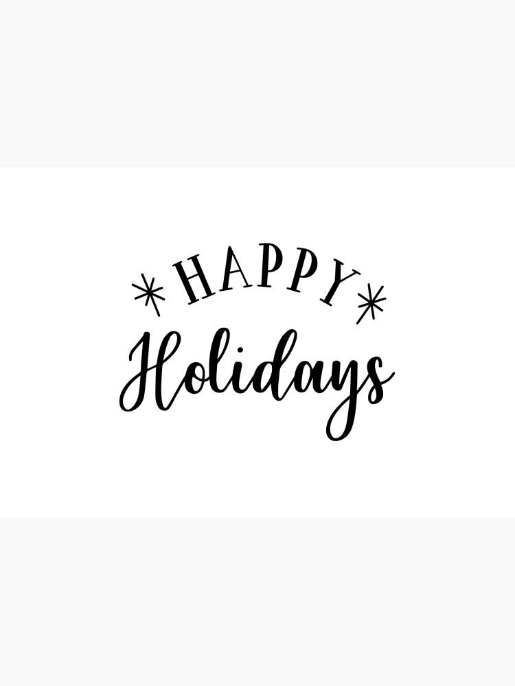 Happy Holidays von DeMaggus