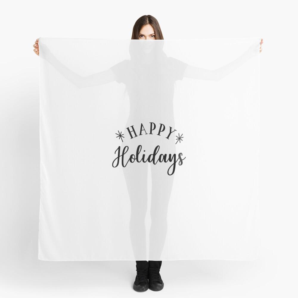 Happy Holidays Tuch