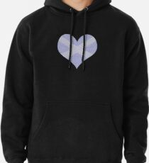 Scots Words in a Saltire in a Heart Pullover Hoodie