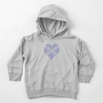Scots Words in a Saltire in a Heart Toddler Pullover Hoodie