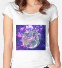 End Of The Earth? Fitted Scoop T-Shirt