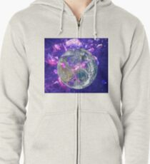 End Of The Earth? Zipped Hoodie