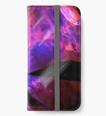 Asteroid Showers over Bow Fiddle Rock iPhone Wallet/Case/Skin