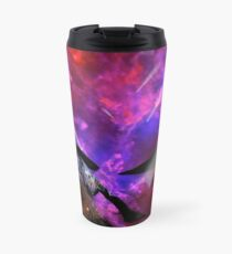 Asteroid Showers over Bow Fiddle Rock Travel Mug